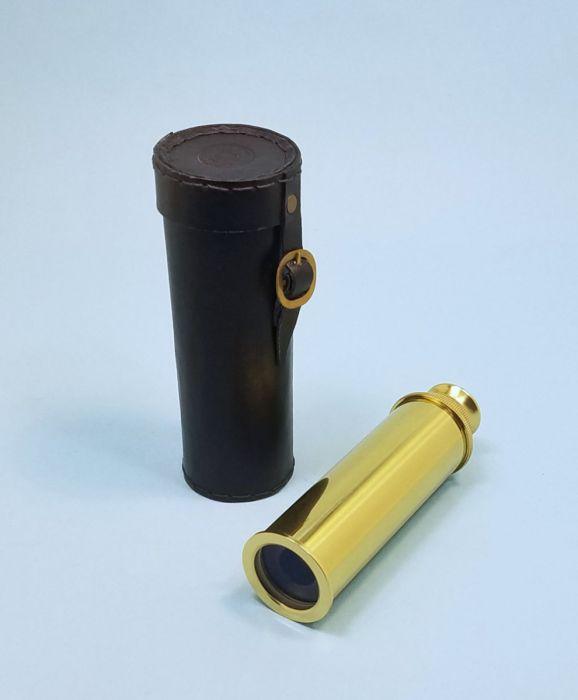 "Telescope 18/"" London Brass Engraved Maritime Spy Glass Working Telescope Decor"