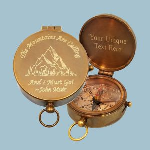 LOT OF 20 PCS VINTAGE STYLE BRASS POCKET COMPASS MINI LOCKET COMPASS