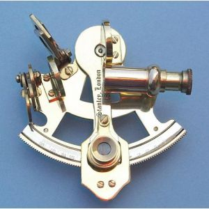 3-inch Miniature Brass Sextant