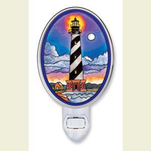 Cape Hatteras Stained Glass Night Light