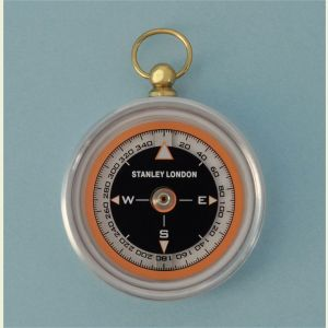 Engravable Aluminum Aviator's Pocket Compass