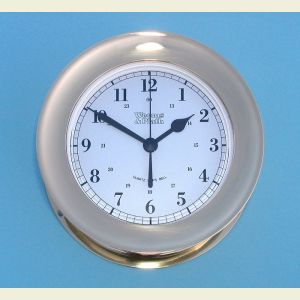 Weems and Plath Atlantis Quartz Ship's Bell Clock