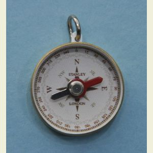 Engravable Sea Scout Brass Pocket Compass