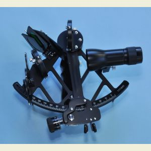 Engravable Mark 3 Sextant with Scope and Case