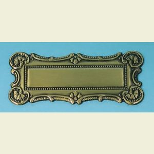 Antique Rectangle Plaque