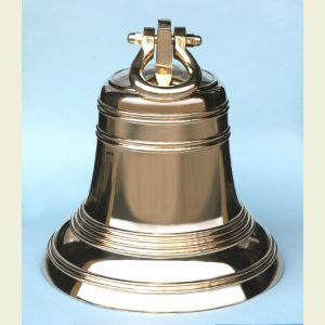 Eighteen Inch Diameter Brass Ship's Bell