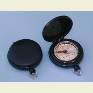 Plastic Pocket Compass in Pocket Watch Style Case