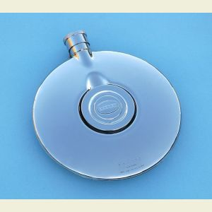 Engravable Dalvey Stainless Steel Flask with Cup