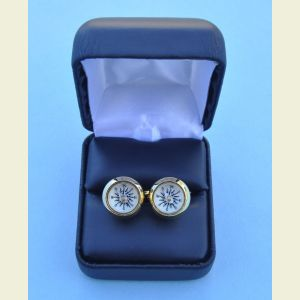 Stanley London Compass Cufflinks