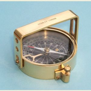Engravable Brass Clinometer Handle Compass