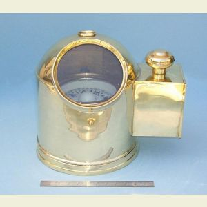 Engravable Large Gimbaled Binnacle Compass