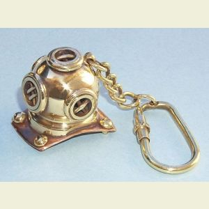 Miniature Brass Diver's Helmet