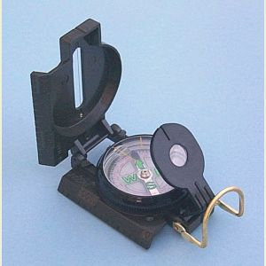 Engravable Aluminum Military Lensatic Marching Compass