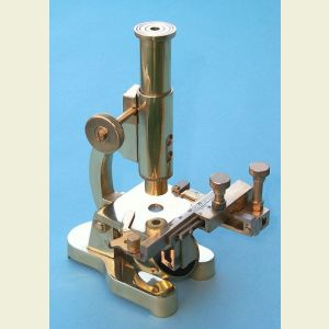 Brass Microscope with X-Y Translation Stage