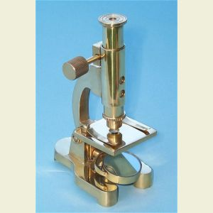Modern Style Brass Microscope