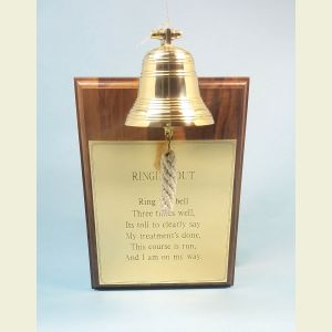 Ring This Bell Celebration Bell Plaque