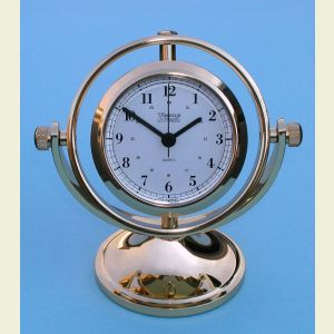 Skipjack Combination Gimbaled Clock and Barometer