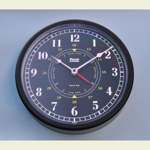 Weems and Plath Trident Time and Tide Wall Clock