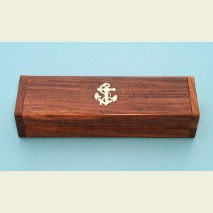 Engravable Hardwood Case for Boatswain's Pipe