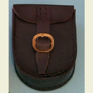Dark Brown Leather Case for Lensatic Compass