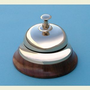 Engravable Desk Bell