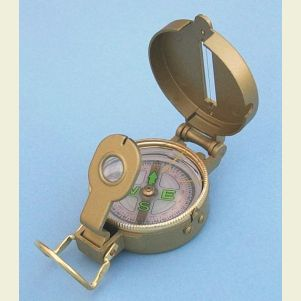 Zinc Military Lensatic Compass