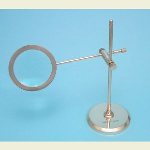 Engravable Polished Brass Stand Magnifier