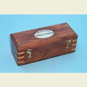 Engravable Hardwood Case for 14-inch Telescope