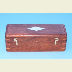 Engravable Hardwood Case for 18-inch Telescope