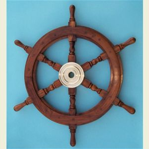 24-inch Diameter Ship's Wheel