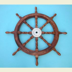 36-inch Diameter Ship's Wheel