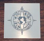 Custom Engraved Brass Plaque
